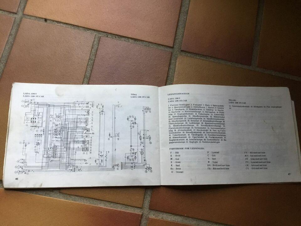 Instruktionsbog Lada 2101+21021, Instruktionsbog Lada