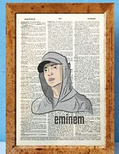 Lauryn Hill Fugees art artdictionary page art print vintage antique P26