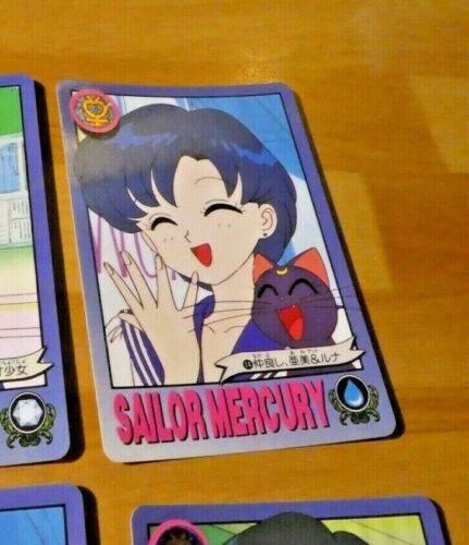 SAILORMOON R GRAFFITI JAPANESE CARDDASS CARD REG CARTE 14 MADE IN JAPAN 1993 NM