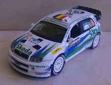 SKODA FABIA WRC RALLYE DE TURQUIE 2006 FRANCOIS DUVAL IXO