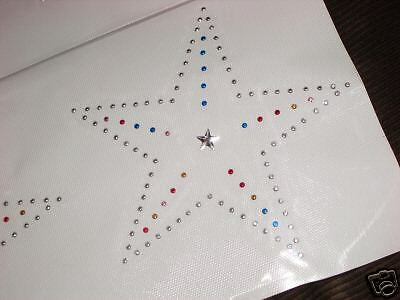 HOTFIX Large Shining Star MOTIF IRON ON