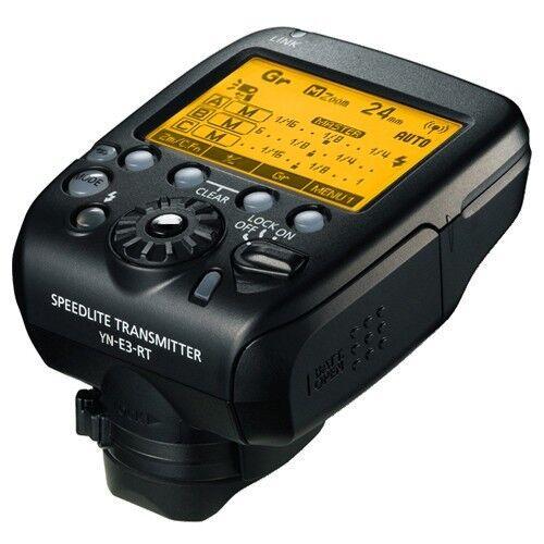 YONGNUO YN-E3-RT Speedlite Transmitter GR Radio Controller Trigger For Canon RT
