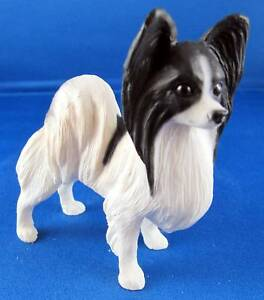 North Light Dogs Papillon In Black And White Sale 696567105335