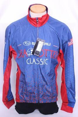 New Primal Women/'s Sea Otter Classic Large Blue Cycling Wind Bike Jacket