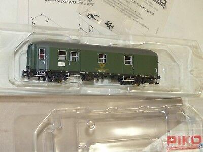 Di Carattere Dolce Piko 53263 Ferroviario Carro Postale Post 2-p/13 Dbp Traccia H0 1:87 Ovp Top Come Nuovo-mostra Il Titolo Originale Ultima Tecnologia