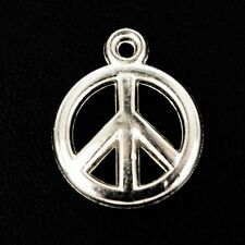 Acrylic/Plastic CND~Peace sign~Pendants/Beads/Charms Jewellery making x 25 NP38