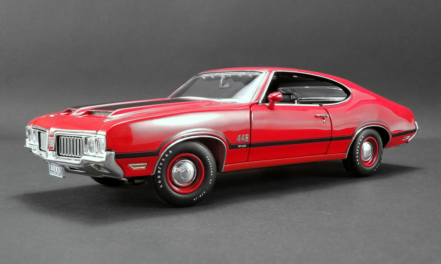 1 18 Gmp Acme - 1970 Oldsmobile 442 W-30 Red