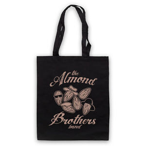 Bags Men's Accessories The Almond Parody Unofficial Brothers Band Allman Funny Tote Bag Life Shopper