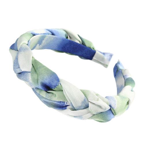 Women/'s Colorful Braided Headband Hairband Twist Hair Band Hoop Accessories Prom