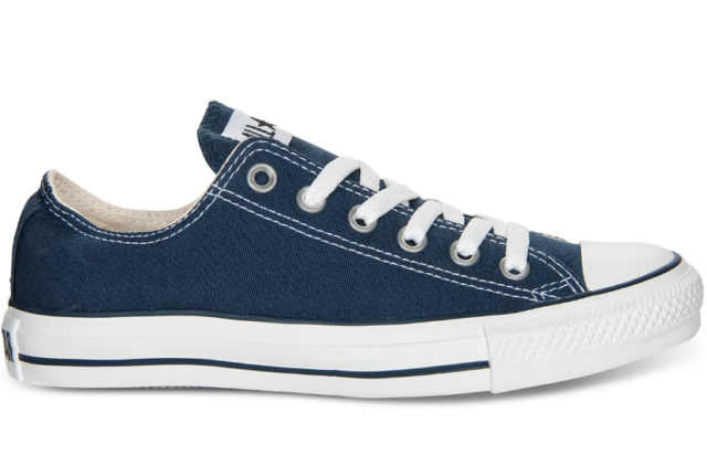 Mens Converse Shoes Navy All Star Chuck Taylor Low Top Ox M9697 12 ... 7d684c734e