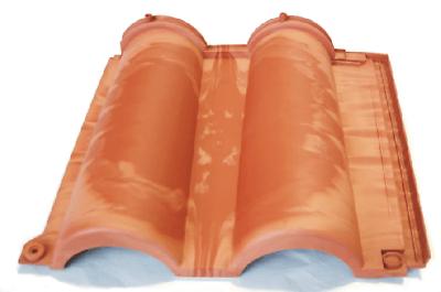 Kunststoff Dachziegel Kunststoff Dachpfanne Dachziegel Ziegel Antik-terre Senesi Einfach Zu Schmieren Baustoffe & Holz