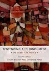 Sentencing and Punishment: The Quest for Justice by Susan Easton, Christine Piper (Paperback, 2016)