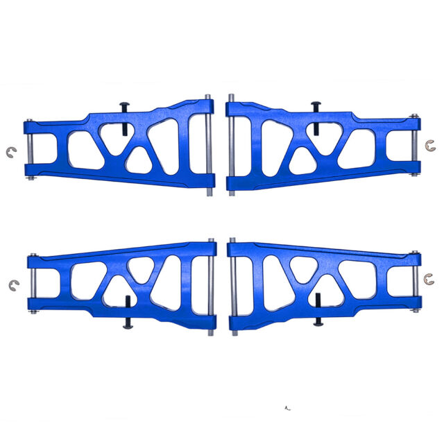 RPM TRAXXAS SLASH STAMPEDE 4X4 BLUE Front Rear SUSPENSION ARMS RALLY 2 pair