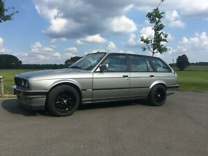 BMW E30 325 salmon silver Slicktop, rust free and flawless