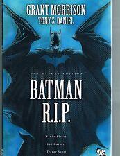 Batman: R.I.P. Deluxe Edition by Grant Morrison & Tony Daniel HC DJ 2009 DC