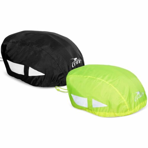 High Visibility Hi Vis Reflective Waterproof Bike Bicycle Cycle Helmet Cover 717