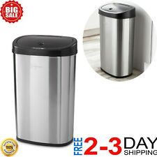Halo Tapcan Deluxe Stainless Steel 13 Gallon Motion Sensor Trash Can For Sale Online Ebay