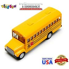 "2007 School Bus 5/"" Die Cast Openable Frond Door with Pull-Back Action 1:60"