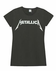 Amplified-Metallica-Logo-Womens-T-Shirt