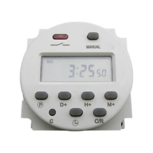 New-CN101-DC-12V-Digital-LCD-Power-Programmable-Timer-Time-Relay-Switch