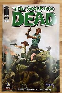 WALKING DEAD #1 St Louis 2015 Wizard World Comic Con Exclusive Variant Gerhard