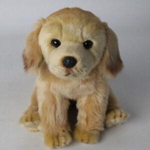 Lifelike Realistic Plush Labrador Retriever Dog Toy Doll Stuffed Model Kids Gift