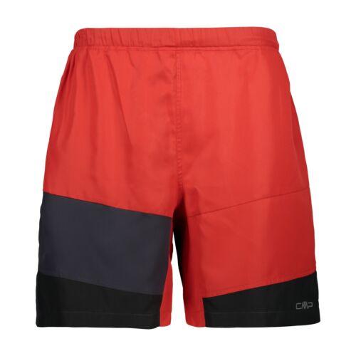 CMP laufshort pantalones cortos se bermudas de trail rojo transpirable schnelltrocknend