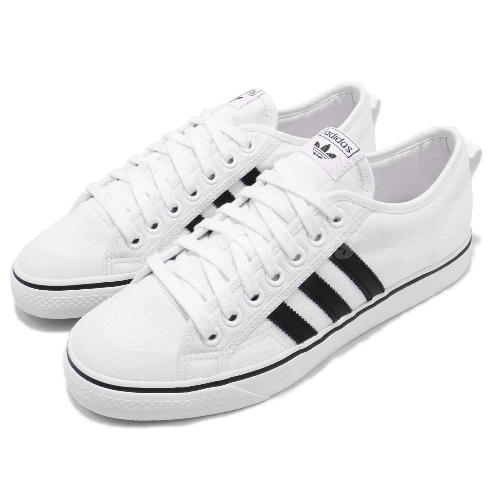 Adidas Originals Nizza Footwear bianca Core nero Men Casual scarpe scarpe da ginnastica CQ2333 | Colore molto buono  | Gentiluomo/Signora Scarpa