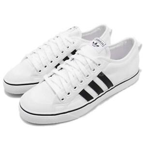 3f38afb2ef14 Image is loading adidas-Originals-Nizza-Footwear-White-Core-Black-Men-