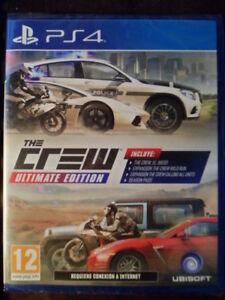THE-CREW-ULTIMATE-EDITION-Nuevo-PS4-Conduccion-carreras-en-castellano
