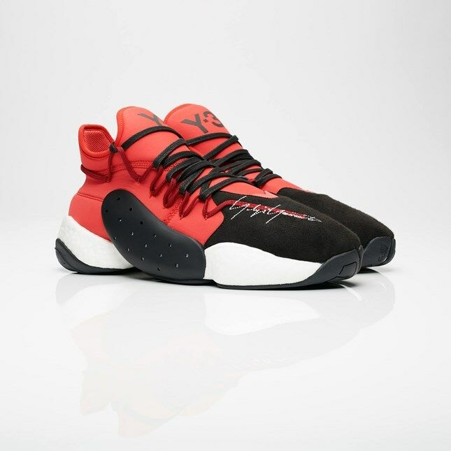 Adidas Y-3 BYW Bball  Yohji Yamamoto BC0338 Limited shoes Size 7-13  Red