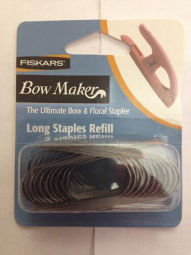 Fiskars Ultimate Bow /& Floral Stapler Long Refills New