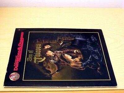 Ad&d Tsr Advanced Dungeons & Dragons Den Of Thieves 9515 Game Accessory 1996 Una Gamma Completa Di Specifiche