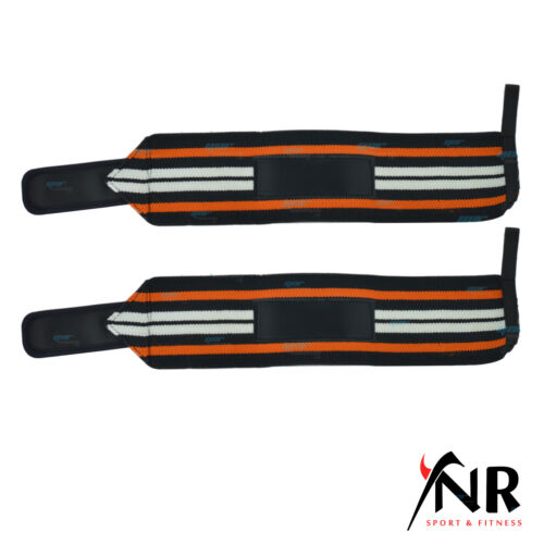 YNR Elasticated Hand Wrist Support Compression Brace Bandage Adjustable Strap