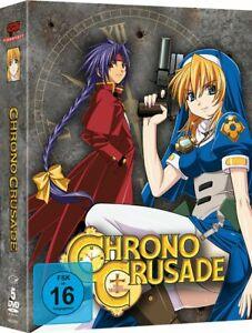 CHRONO Crusade (serie completa nel Diggi-Pack [5 DVD's/Nuovo/Scatola Originale] HIT-anime di ST
