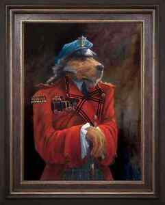 The-Baron-from-the-Lonely-Dog-Collection-by-Artist-Ivan-Clarke