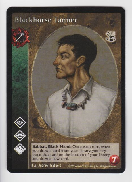 Blackhorse Tanner Ventrue Antitribu Black Hand V:TES VTES