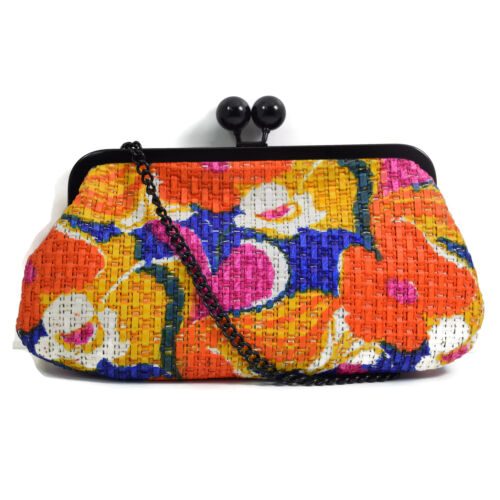 "Faith ""Bryce"" Multi-Colour Designer Clutch Bag 40% OFF"