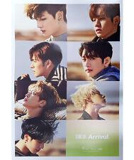 GOT7 [FLIGHT LOG:ARRIVAL] Album EVER Ver Original Official Bromide FOLDED POSTER