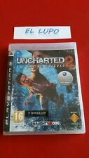 UNCHARTED 2 AMONG THIEVES PS3 SONY NEUF SOUS BLISTER VERSION FRANCAISE
