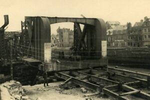 France-Dieppe-Colbert-Bridge-Rehabilitation-Work-Old-Photo-1947