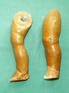 Comp Legs Straight 1910/20s Hell Massebeine 14 Cm Für Stehpuppe 10/20er Jahre
