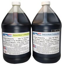 Model-Pro Black Urethane Casting Resin Liquid Plastic for Models 2 GALLON Kit