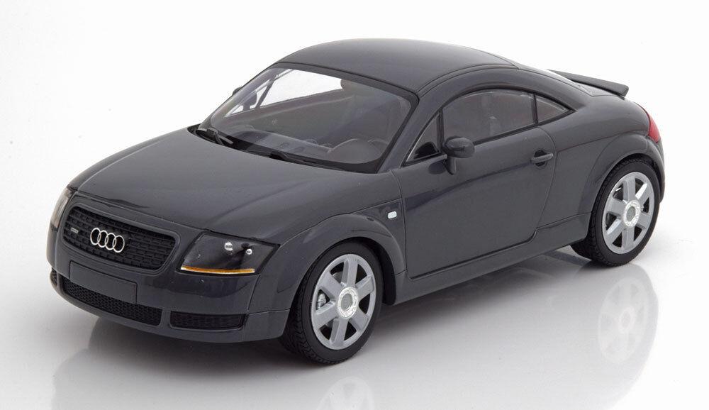 Audi tt coupé grau metallic minichamps 1998 1   18 skala le 300 neue release