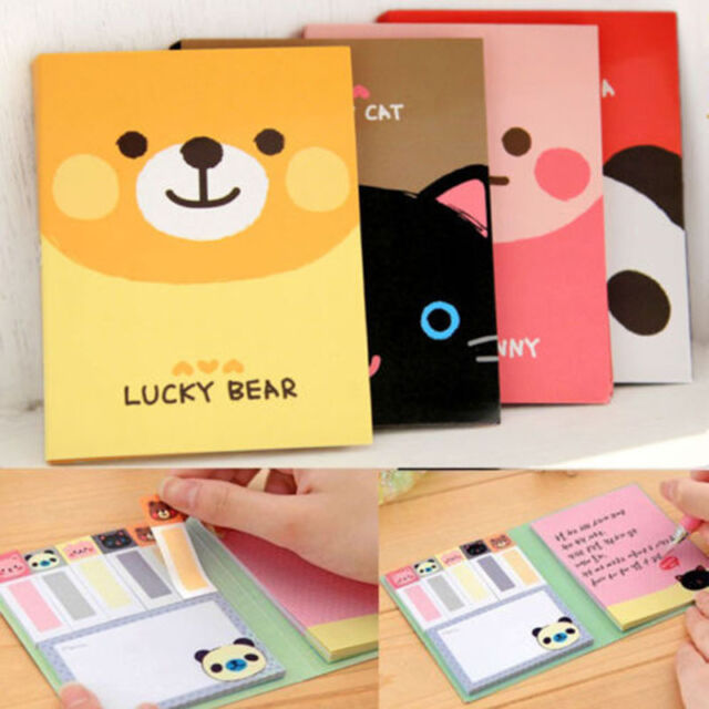 One Animal Cute Sticker Bookmark Point It Marker Memo Flags Sticky Notes