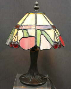 DALE-TIFFANY-CHERRY-STAINED-GLASS-LAMP