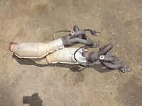 1999 - 2005 GENUINE LEXUS IS200 CATALYTIC CONVERTER EXHAUST MANIFOLD NO SENSORS