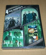 4 Film Favorite - The Matrix Collection (DVD, 2008) Reload Revolutions Anamatrix