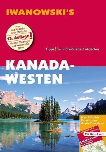 1 von 1 - Kanada der Westen West Alaska 2017  Karte Iwanowski Reiseführer Vancouver Island