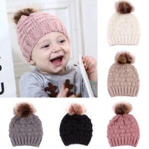 d2223d1f1d8 Newborn Toddler Kid Girl Boy Baby Infant Winter Warm Crochet Knit ...